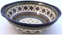 Boleslawiec Polish Pottery Berry Bowl & Strainer - Design DU60