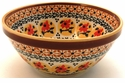 Boleslawiec Polish Pottery Soup or Cereal Bowl - Design DU70