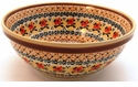 Boleslawiec Polish Pottery Medium Serving Bowl - Design DU70