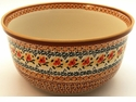 Boleslawiec Polish Pottery Kitchen Mixing Bowl - Design DU70