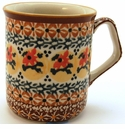 Boleslawiec Polish Pottery Coffee Mug - Design DU70