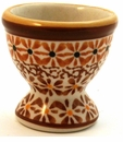 Boleslawiec Polish Pottery Egg Cup - Design DU70