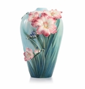 Franz Porcelain Blossoming Freesia Large Vase