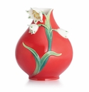 Franz Collection Spring Snowflake Small Vase