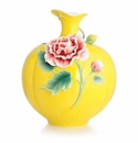 Franz Collection Cotton Rose Large Vase