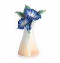 Franz Porcelain Collection Morning Glory Flower Mid Size Vase
