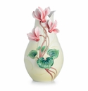 Franz Porcelain Collection Persian Violet Flower Large Vase