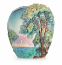 "Franz Porcelain Collection ""Morning At Antibes"" Large Vase"