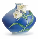 Franz Porcelain Collection Lily Flower Medium Vase