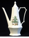 Nikko China Dinnerware Christmastime Coffee Pot & Lid