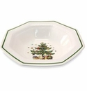 Nikko China Dinnerware Christmastime Round Vegetable Bowl