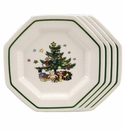 Nikko China Dinnerware Christmastime Bread & Butter Plate (Set Of 4)