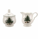 Nikko China Dinnerware Happy Holidays Sugar & Creamer