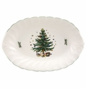 Nikko China Dinnerware Happy Holidays Large Oval Platter