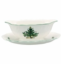 Nikko China Dinnerware Happy Holidays Gravy & Stand