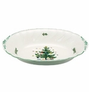 Nikko China Dinnerware Happy Holidays Oval Vegetable Bowl