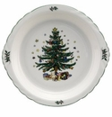 Nikko China Dinnerware Christmas Oven Pie Plate