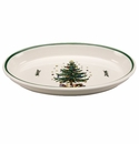Nikko China Dinnerware Christmas Oven Medium Oval Baker