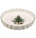Nikko China Dinnerware Christmas Oven Quiche Dish