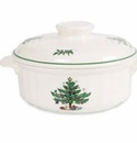 Nikko China Dinnerware Christmas Oven Casserole & Lid