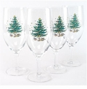 Nikko Christmas Glassware All Purpose Glasses (4)