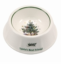 Nikko China Dinnerware Christmas Giftware Dog Bowl