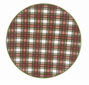 Nikko China Dinnerware Tartan Salad Plates (Set Of 4)