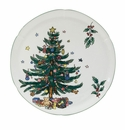 Nikko Christmas Giftware Hostess Plate
