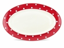Spode Baking Days Oval Platter - Red