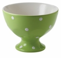 Spode Baking Days Individual Footed Bowl - Green