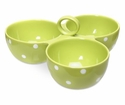 Spode Baking Days Green Three Part Server