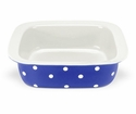"Spode Baking Days Dark Blue 10"" Square Dish"
