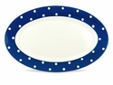 Spode Baking Days Oval Platter - Dark Blue