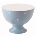 Spode Baking Days Blue Individual Footed Bowl