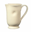 Vietri Crema Large Footed Pitcher