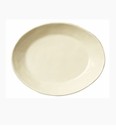 Vietri Crema Small Shallow Oval Bowl