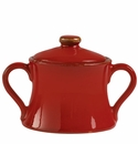 Vietri Rosso Vecchio Sugar Replacement Lid (Bowl Not Included)