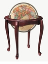 Replogle Globes Queen Anne Floor Globe