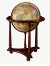 Replogle Globes Lafayette � Illuminated Floor Globe