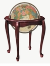 Replogle Globes Queen Anne- Illuminated Floor Globe