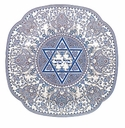 Spode Judaica Mazel Tov Plate - Good Luck