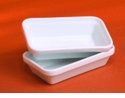 Pillivuyt Porcelain Rectangular Stacking Hors D'Oeuvre Dish