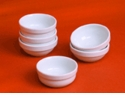 Pillivuyt Porcelain Sauce/Dipping Shell Bowl