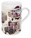 Konitz Mug - Legends on Wheels Red