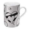 Konitz Mug - Patterns Heart