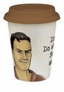 Konitz Travel Mug with Lid - Stupid