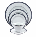 Nikko China Moonstone 5 Piece Dinnerware Place Setting