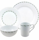 Nikko China Perennial Vine 5 Piece Dinnerware Place Setting