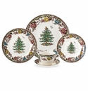 Spode Christmas Tree Grove 5 Piece Place Setting