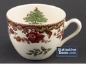 Spode Christmas Tree Grove Tea Cup & Saucer Set